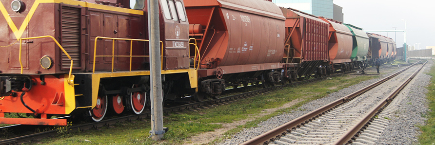 Railway | Transit agency services | Grain terminal